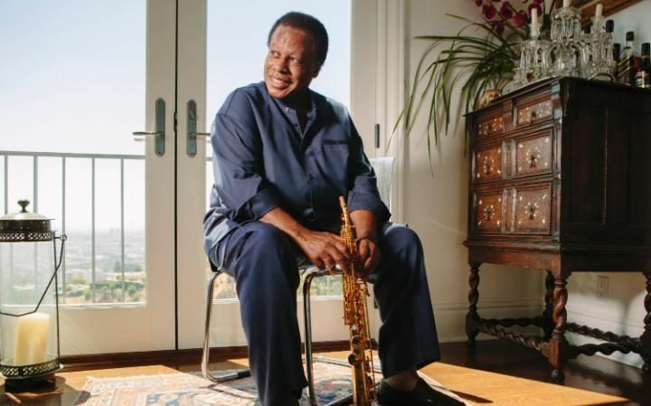 Wayne Shorter performs at the London Jazz Festival next month CREDIT: BRET HARTMAN/GETTY