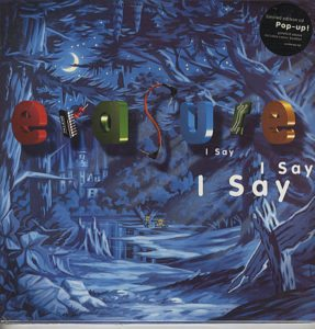 "I Say I Say I Say (1994 UK limited edition 10-track CD album issued in a most spectacular 12"" x 12"" gatefold picture sleeve which when opened up shows a superb 3-D pop-up castle!"