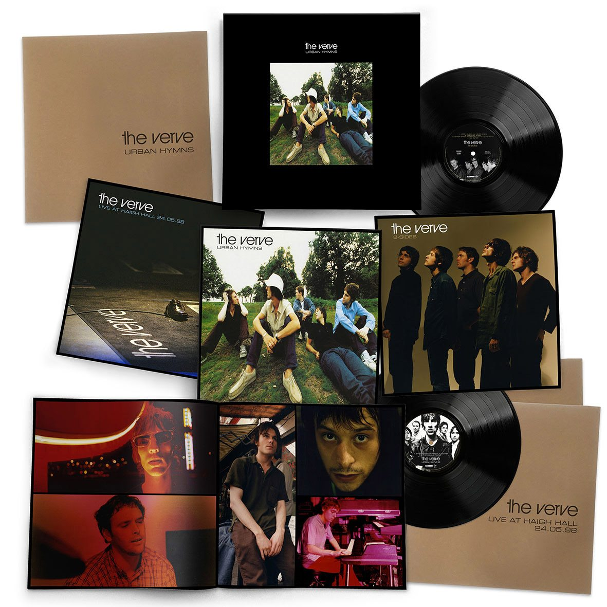 The Verve Urban Hymns Super Deluxe Cd And 6lp Vinyl