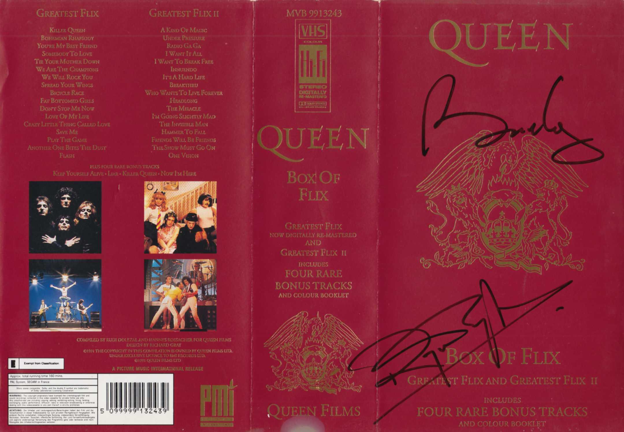 Latest Autographed rarities including Queen, Elvis Costello