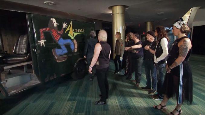 Aerosmith S Original Tour Van Restored To Its Former Glory