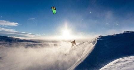 snowkite et speed riding