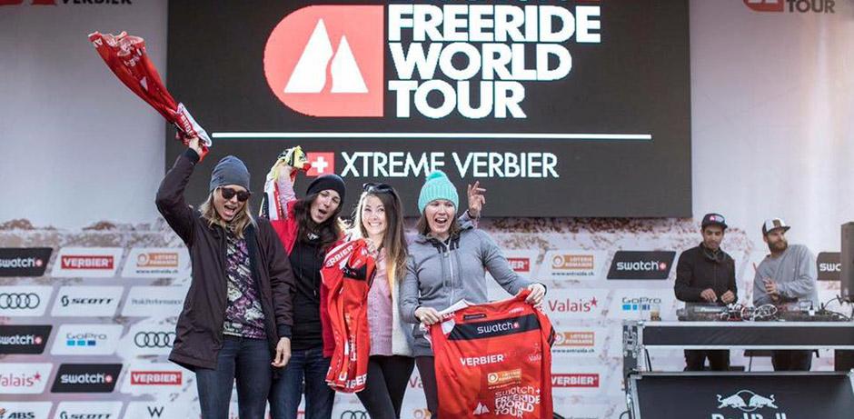 FWT Verbier 2017 rideuse freeride