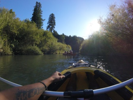 Beltran'che de vie - Canoë en Californie