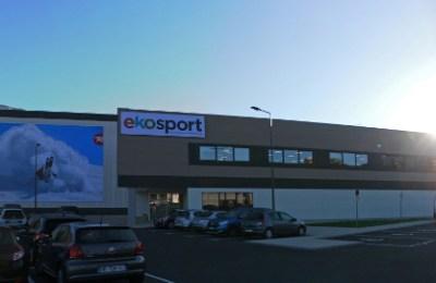 Façade Siège Ekosport