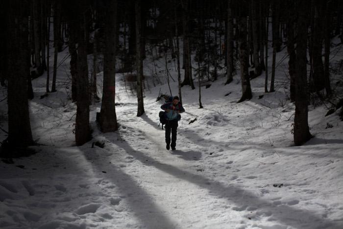 Randonnée hivernale Jura