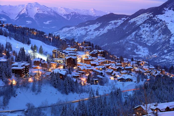Skier à Courchevel