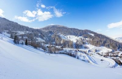 Skier à la Plagne