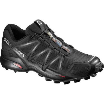 Chaussures de trail Salomon SPEEDCROSS 4 BKBKBLACK 2018