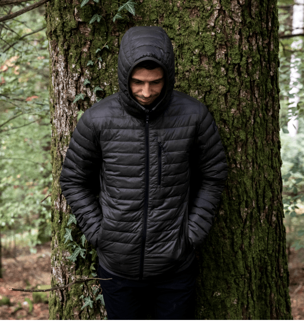 Doudoune Eider Twin Peaks Homme Deep Jungle