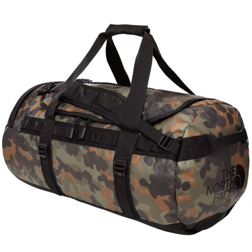 THE NORTH FACE BASE CAMP DUFFEL - M NEW TAUPE GRN 71L
