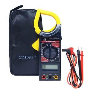 Alicate Amperimetro Brasfort Digital Com Estojo
