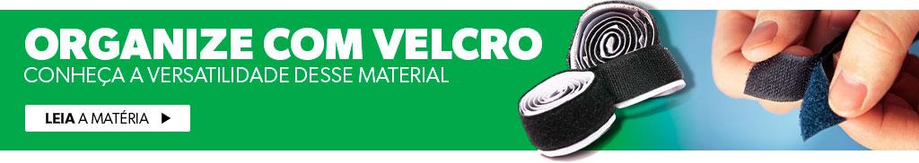 Organize com Velcro
