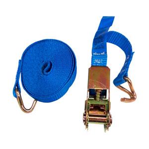 Cinta para Carga Polifitema com Catraca Azul 25MM X 4M