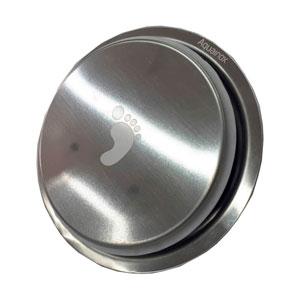 Ralo Redondo de Aço Inox Stamplas Click Inteligente