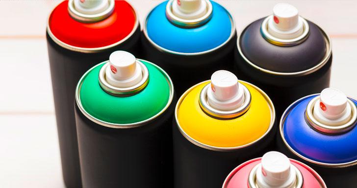 tinta spray para reforma