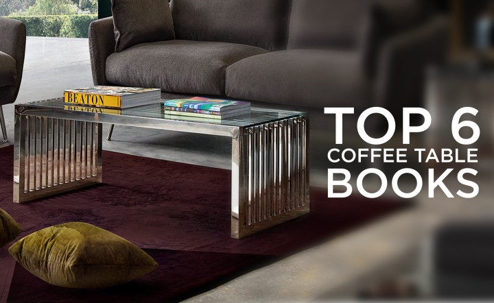 Top 6 Coffee Table Books for Your Living Room
