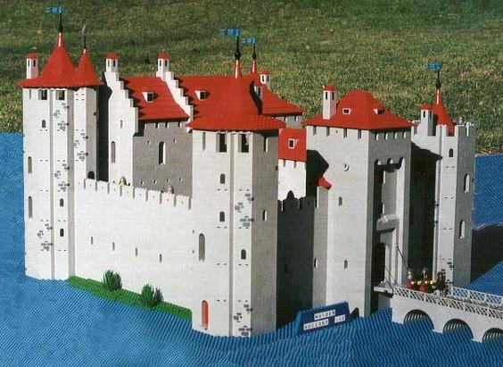 Castillos LEGO: muiderslot_1994_south1