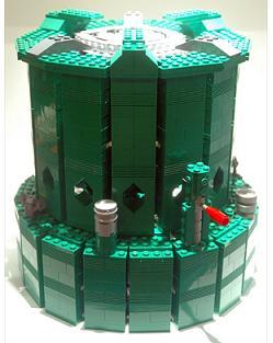 estufa de queroseno realizada por Schfio
