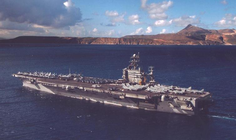 portaaviones nuclear Harry S Truman