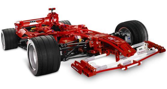 8674 Ferrari F1 Racer 1:8