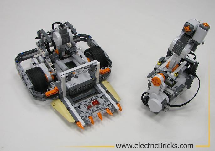 robot de sumo y su joystick