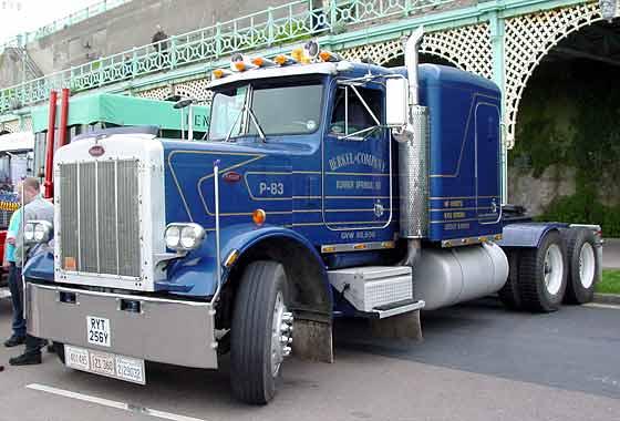 Peterbilt 359, unidad tractora