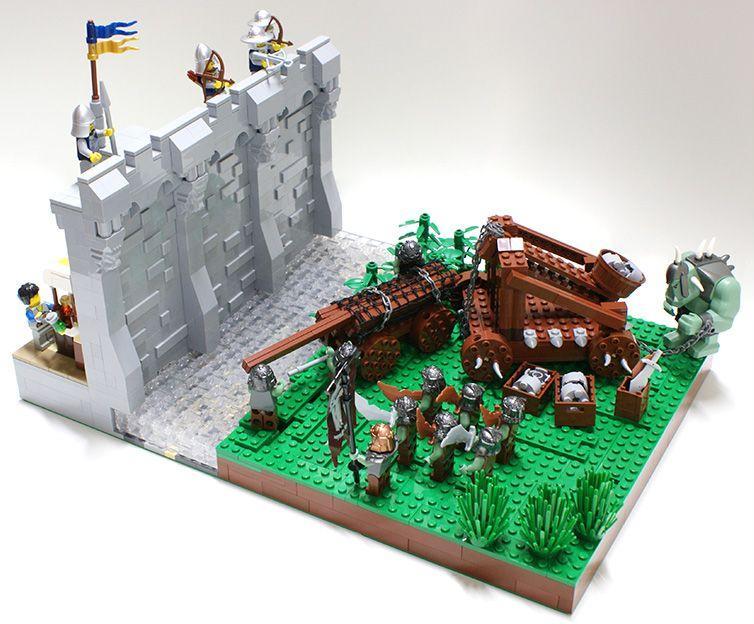 Asedio al castillo, por Matija