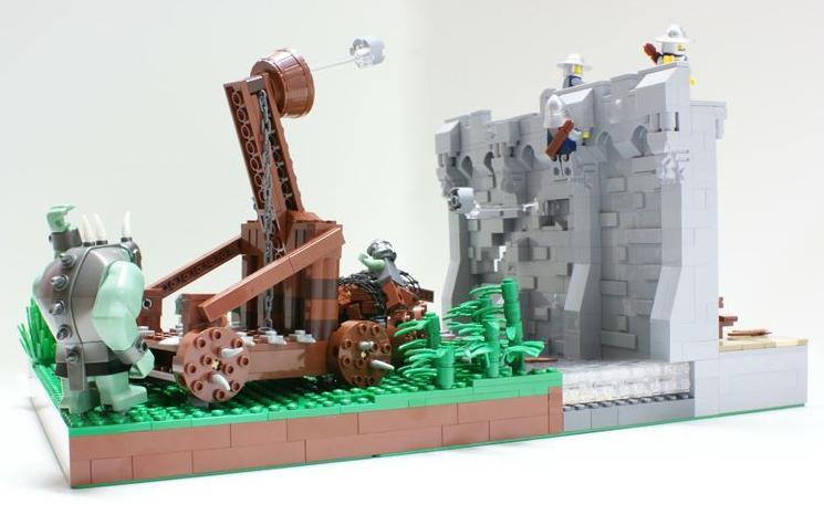 Asedio a castillos, por Matija