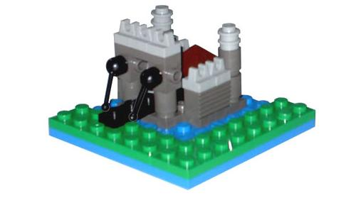 mini castillo, por BenjaminE