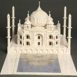 Micro edificios con LEGO: Taj Mahal, escala micro