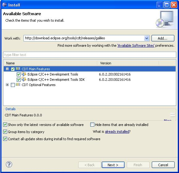Instalando OpenCV: EclipseC++
