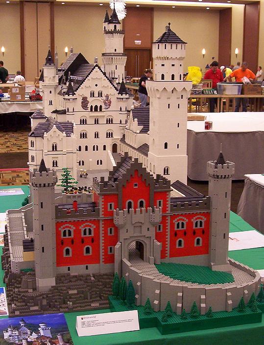 Neuschwanstein en LEGO
