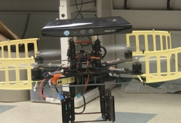 Mindstorms NXT controlado con Kinect: Kinect-Flying-Machine