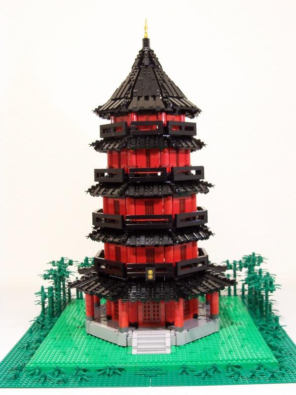 pagoda LEGO