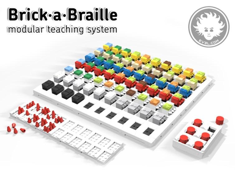 Brick-a-Braille