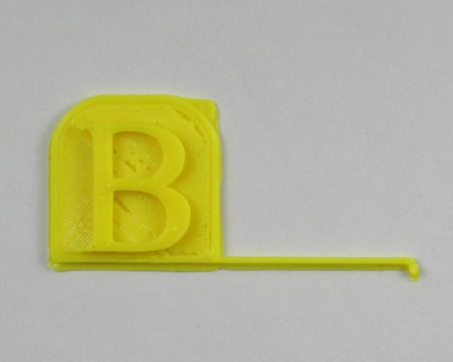 3D Printed Ben's Workshop Logo