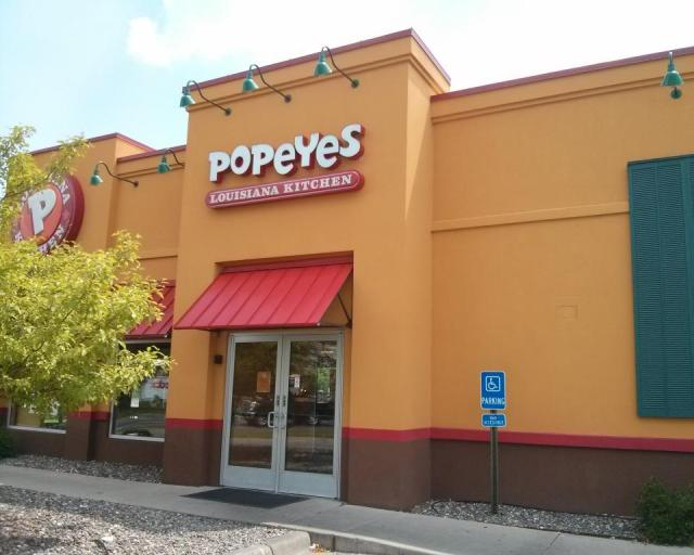 Popeyes Store Front