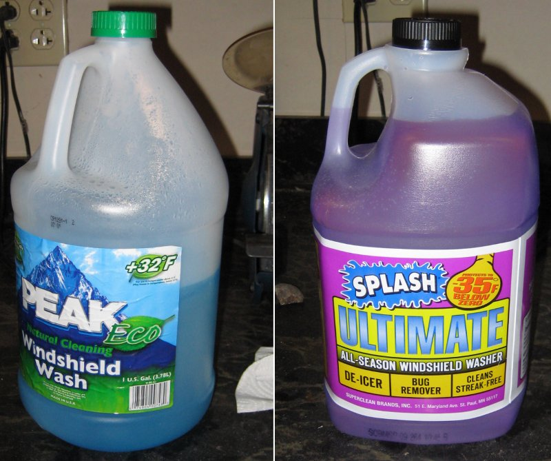Choose Your Windshield Washer Fluid Wisely