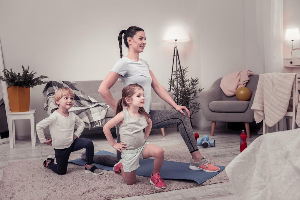 exercitii fizice impreuna cu familia