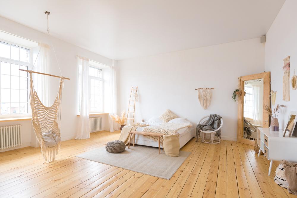cromatica dormitor patrat