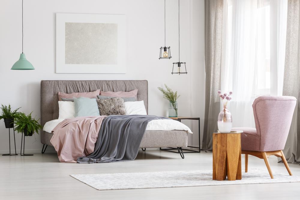 culori pentru un dormitor de mari dimensiuni
