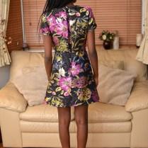 Day dress overlay back