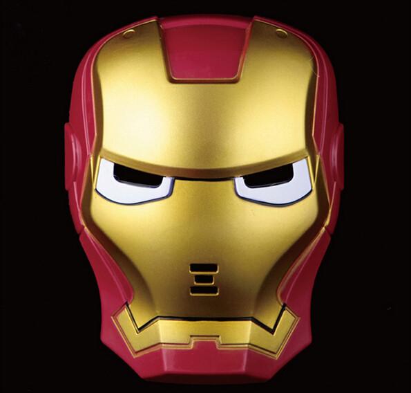 Máscaras de LED homem de ferro