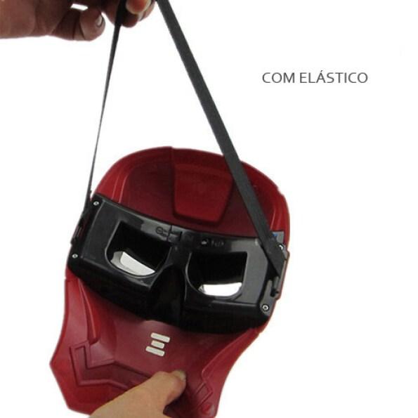 Máscaras de LED homem de ferro elastico