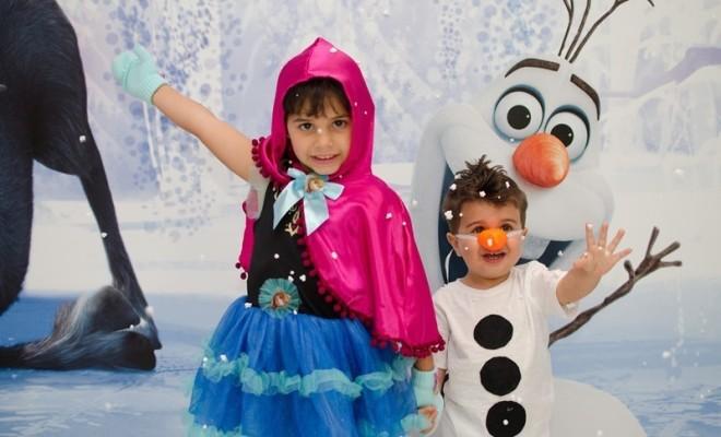 1 Festa em dose dupla Frozen 1