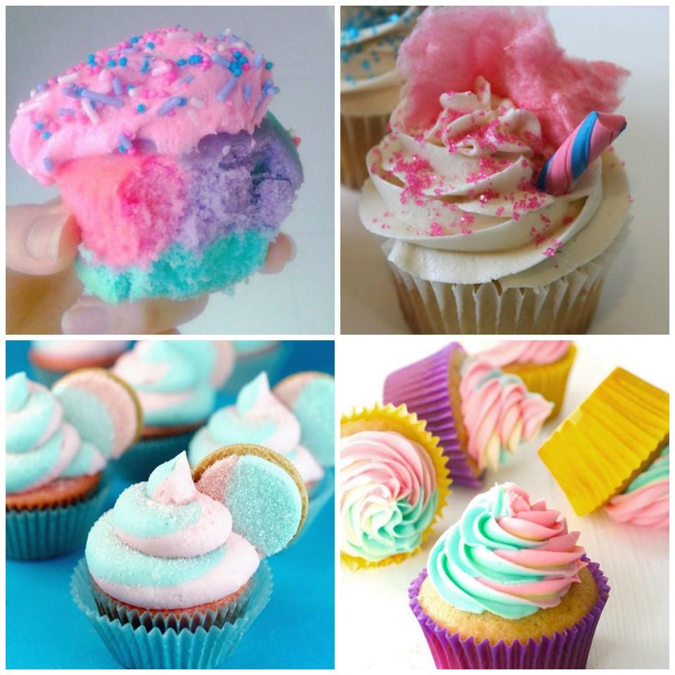 Cupcakes-decorados-para-festa-infantil-tema-Algodão-Doce