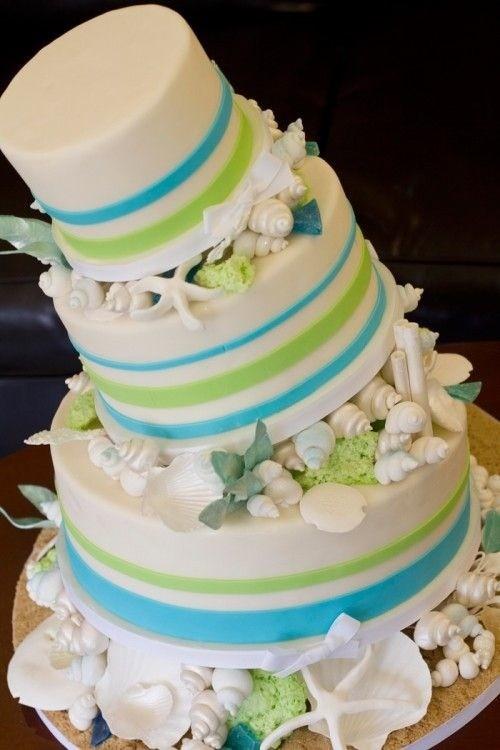 bolo-de-casamento-decorado-com-o-tema-praia