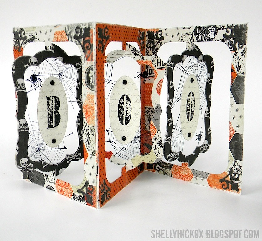 shelly hickox pop it ups halloween album