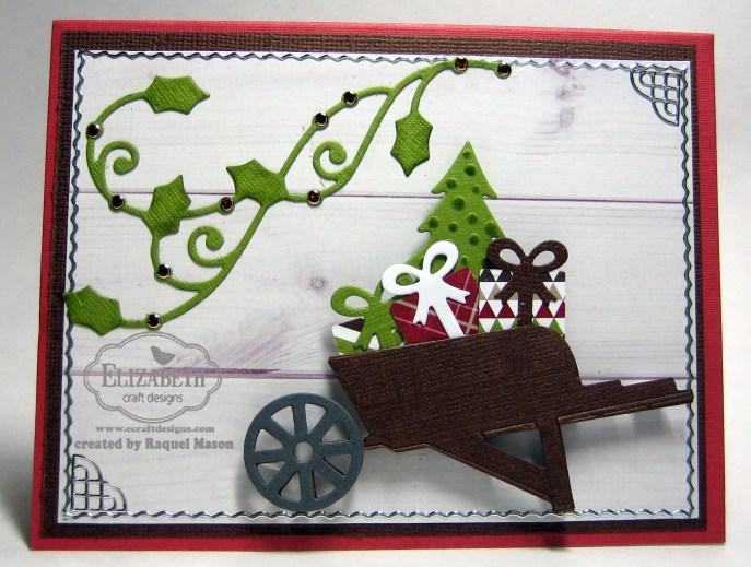 ECD Wheelbarrow w presents